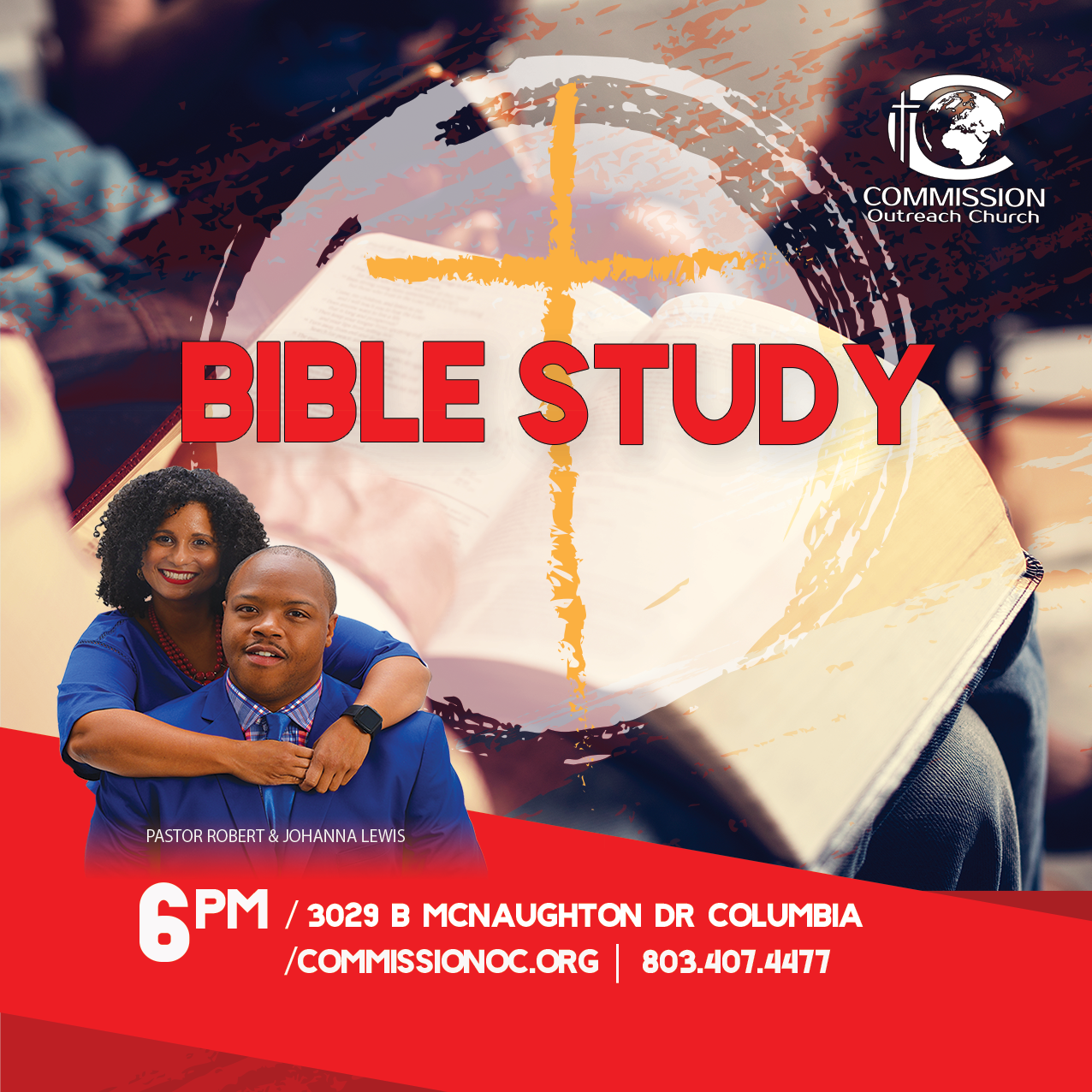 Commission Outreach Church Bible Study